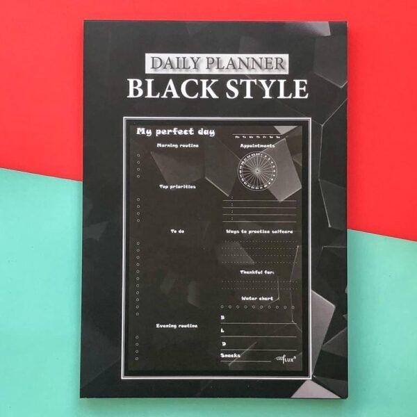 Ежедневник с черными листами