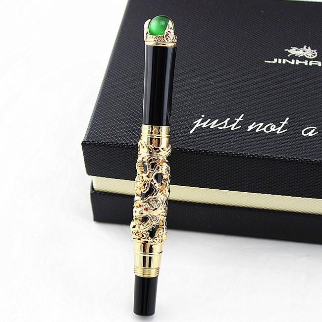 ручка золотой дракон