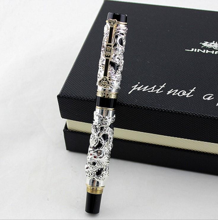 Ручки подарочная металлическая