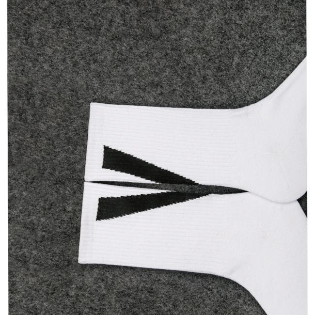 носки с принтом сзади