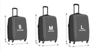 размер чехла на чемодан